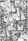 Coloriage navires