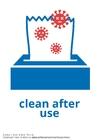 Coloriage nettoyer après utilisation