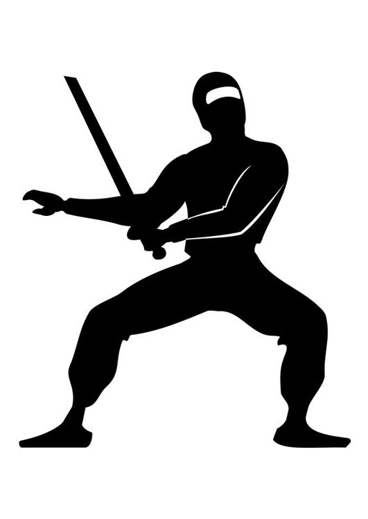 Coloriage Ninja - Coloriages Gratuits à Imprimer - Dessin ...