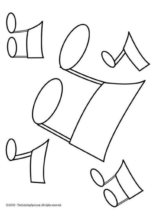 Connu Coloriage notes de musique, note de musique - img 5953 CD15