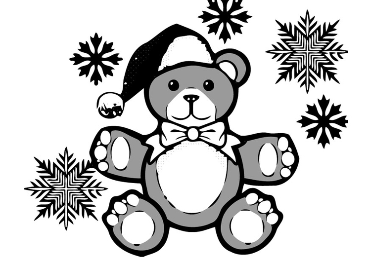 Coloriage Nounours Img 16381