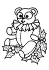 Coloriages ours en peluche