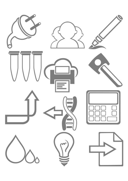 Coloriage outils de travail img 29327 - Coloriage travail ...