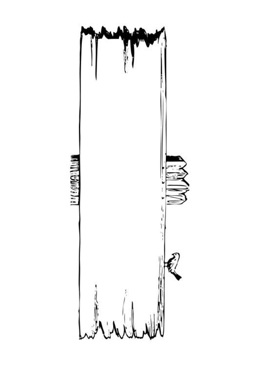 Bien connu Coloriage panneau de signalisation - img 28387 IU33