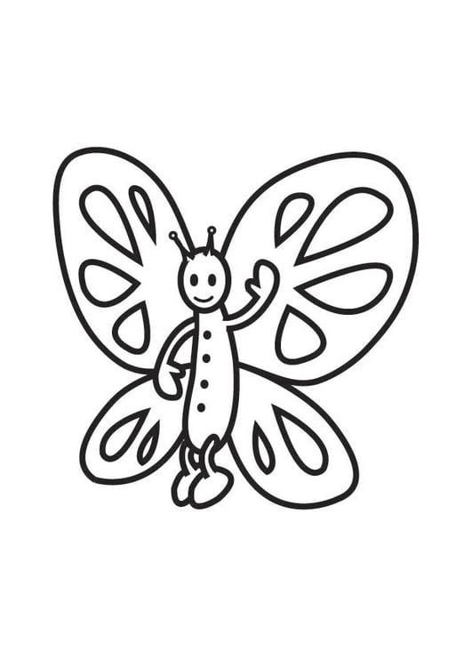 Coloriage Papillon Coloriages Gratuits A Imprimer