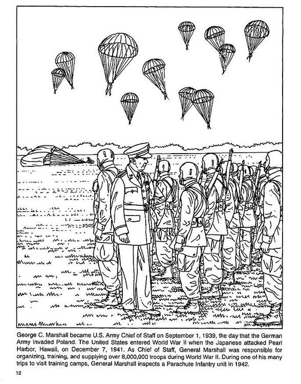Coloriage parachutistes img 4254 - Dessin parachutiste ...