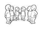 Coloriage parler en grouper (2)