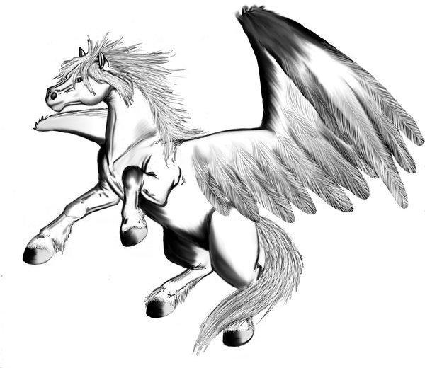 Gratis Kleurplaten Paarden Coloriage P 233 Gase Img 16039
