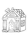 Coloriage petite maison