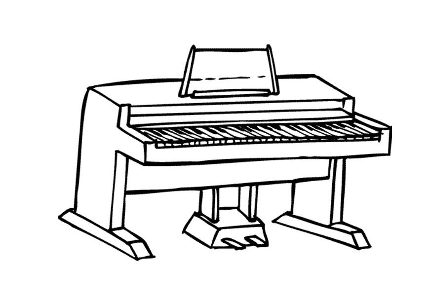Coloriage piano img 9590 images - Coloriage piano ...