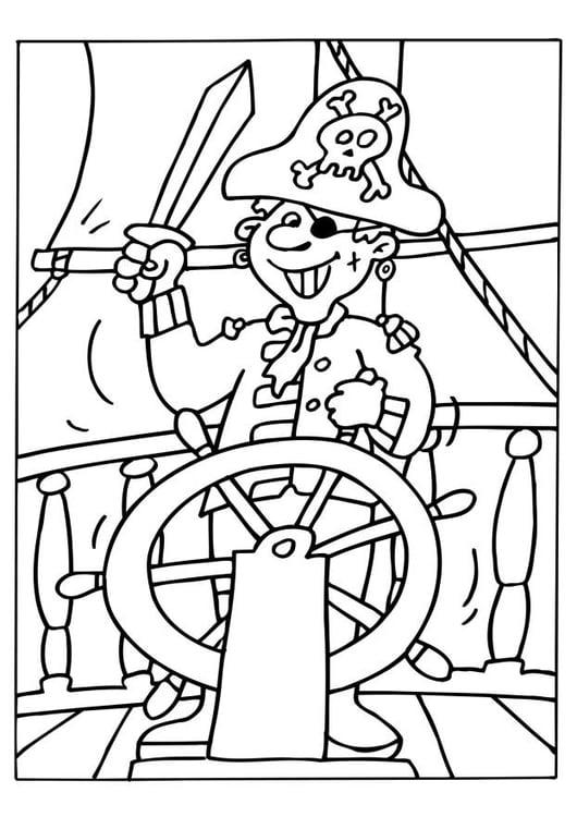 Coloriage Pirate Coloriages Gratuits A Imprimer Dessin 6534
