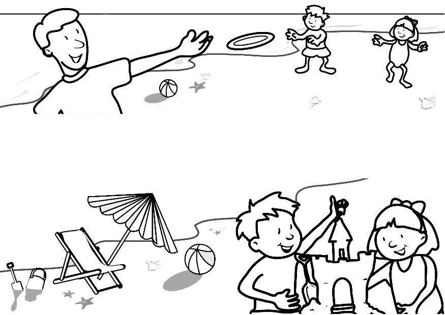 Coloriage plage img 7321 - Coloriage plage ...