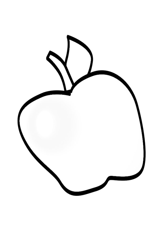 Coloriage Pomme Img 19144 Images