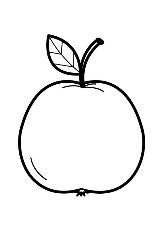 Coloriage Pomme Img 23173 Images