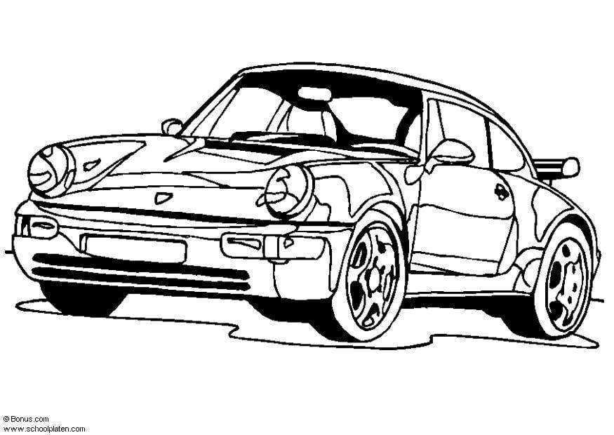 Populaire Coloriage Porsche 911 Turbo - img 5443 BZ44
