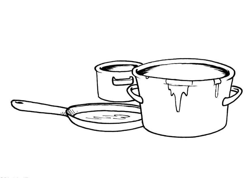 casserole crealys coloring pages - photo#21