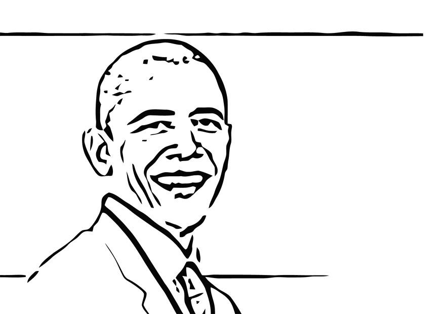obama and coloring pages - photo #48