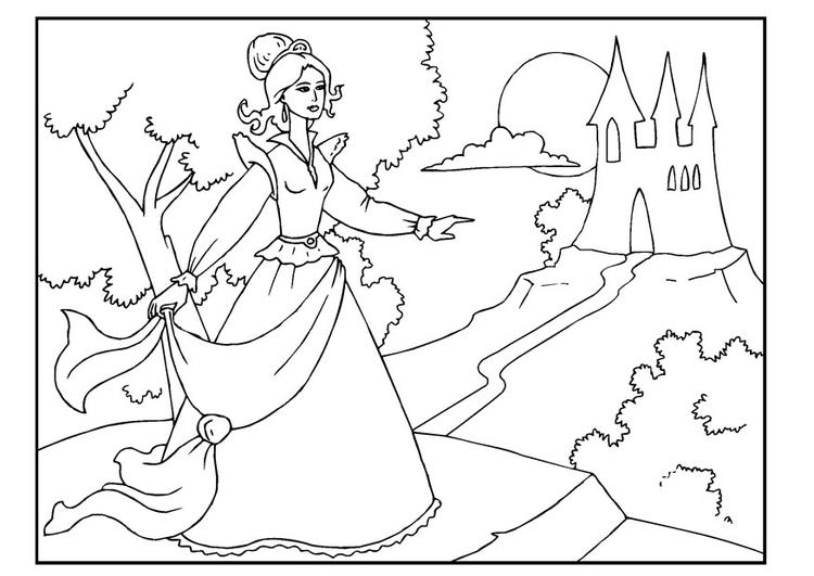 Coloriage Princesse Coloriages Gratuits A Imprimer