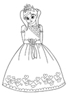 Coloriages Princesse