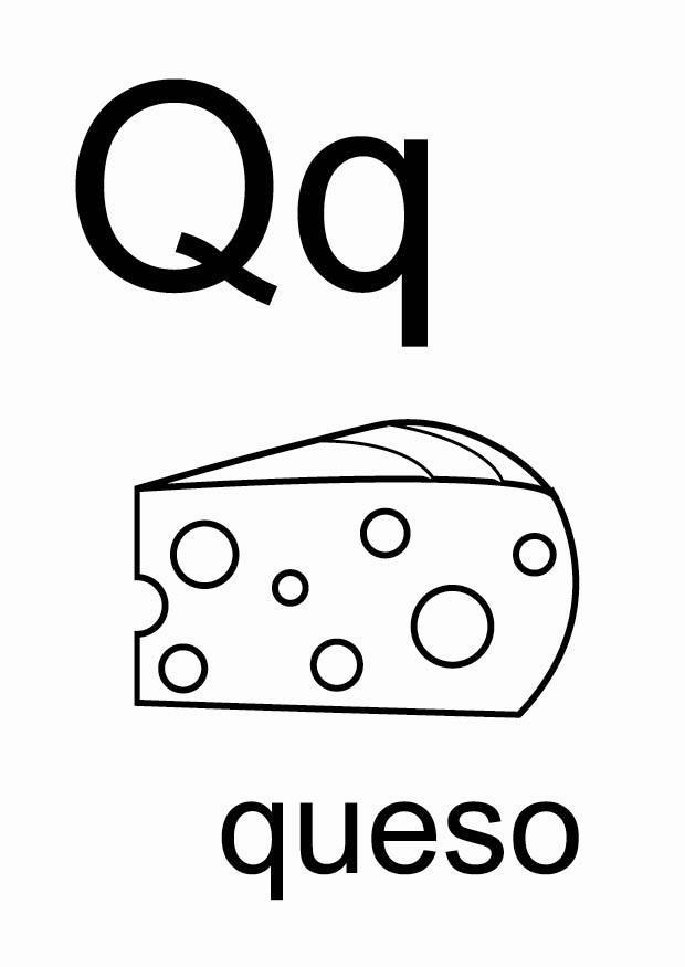 Coloriage q - Coloriages Gratuits à Imprimer