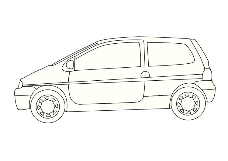 Coloriage Renault Twingo Img 10352 Images