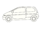 Coloriages Renault Twingo