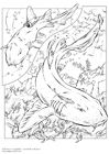 Coloriage requins