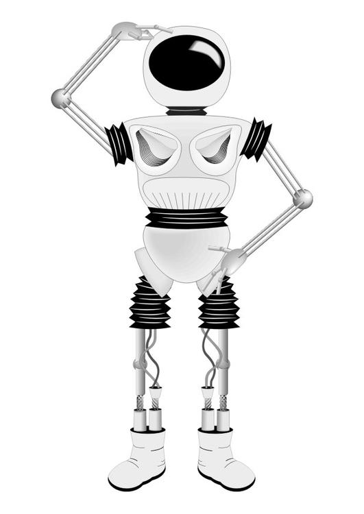 Coloriage Robot Coloriages Gratuits A Imprimer
