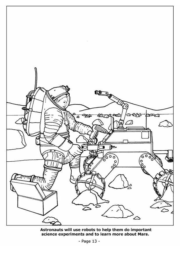 Coloriage Robot Spatial Img 4193 Images