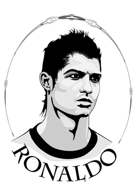 Ronaldo Ausmalbild