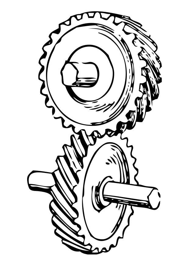 Coloriage roue dent e img 28376 images - Coloriage roue ...