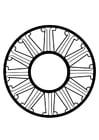 Coloriage roue dharma