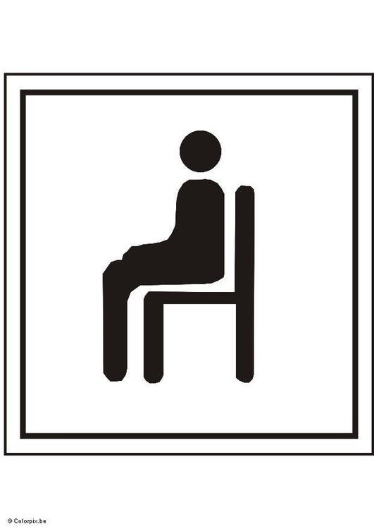 Coloriage s 39 asseoir img 5421 - Imagenes de bancos para sentarse ...