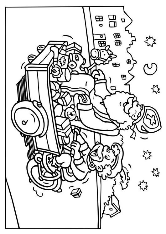 Coloriage saint nicolas et p re fouettard img 6542 - Coloriage de saint nicolas ...