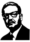 Coloriages Salvador Allende