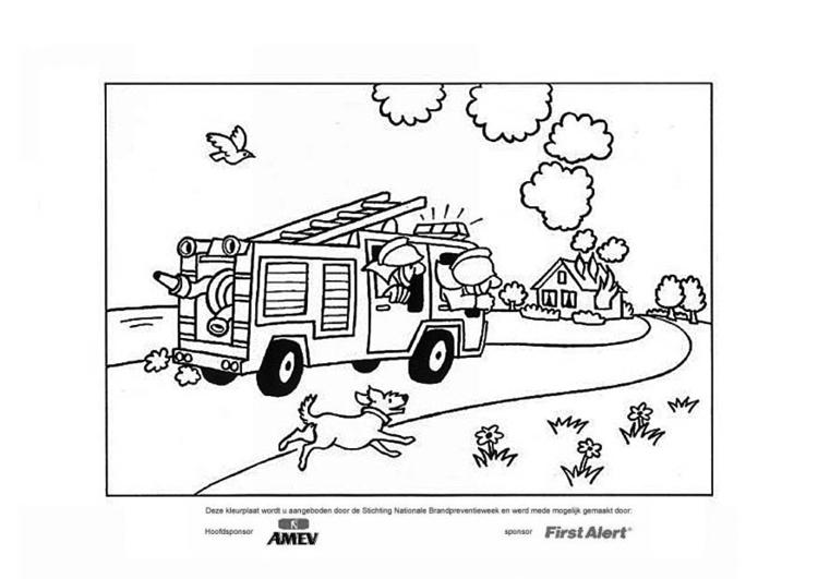 Coloriage Sapeurs Pompiers Coloriages Gratuits A Imprimer Dessin 12685