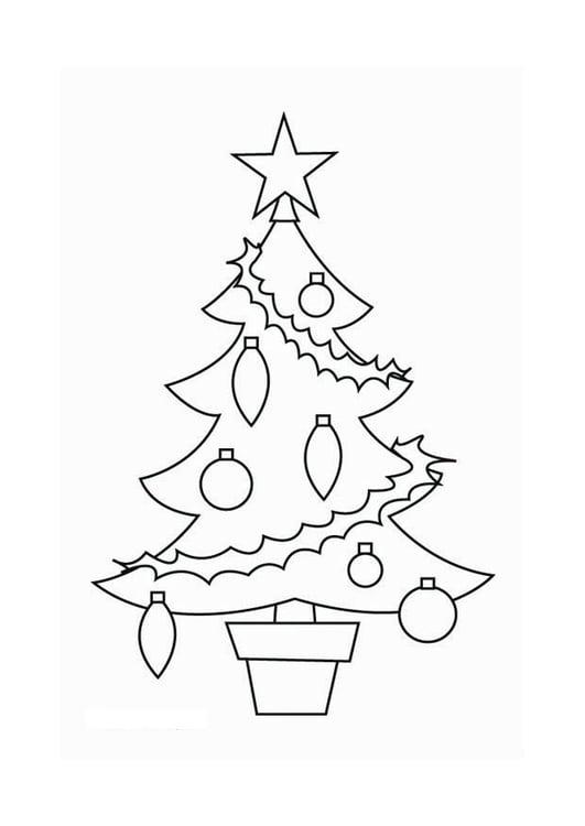 Kleurplaat Kerst En Nieuwjaar 2017 Coloriage Sapin De No 235 L Img 16537