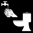 Coloriage se laver les mains après la toilette