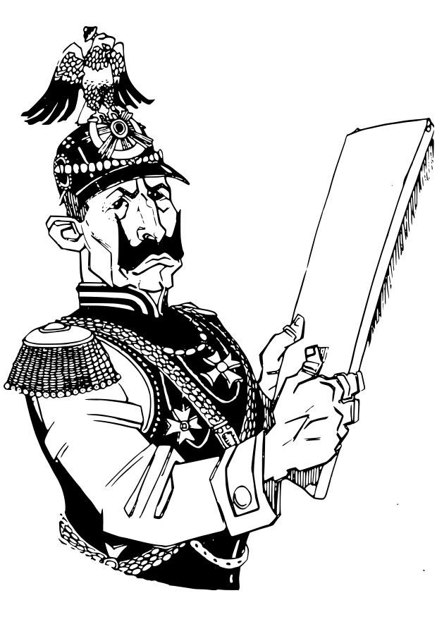 Coloriage soldat allemand img 28091 - Dessin de soldat ...