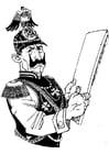 Coloriage soldat allemand
