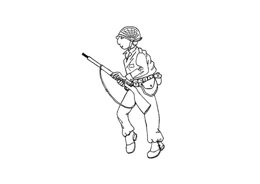 Coloriage soldat img 12803 - Dessin de soldat ...