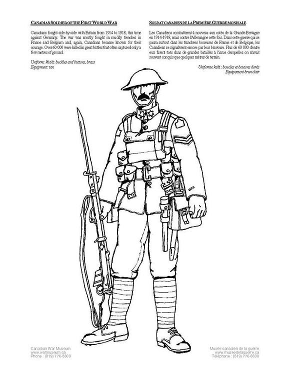 Coloriage soldat img 12746 - Coloriage petit soldat ...