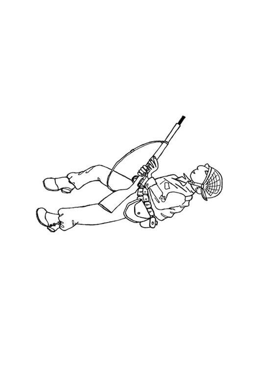 Coloriage Soldat Anglais.Coloriage Soldat Img 12803