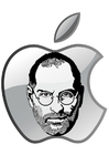 Coloriages Steve Jobs - Apple