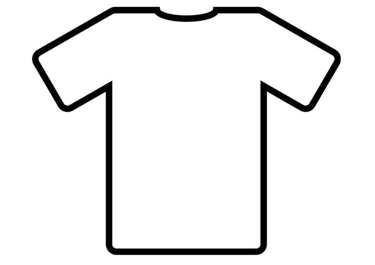 Coloriage T-shirt - img 19012