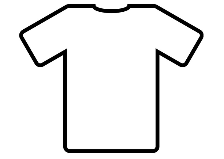 Coloriage T-shirt