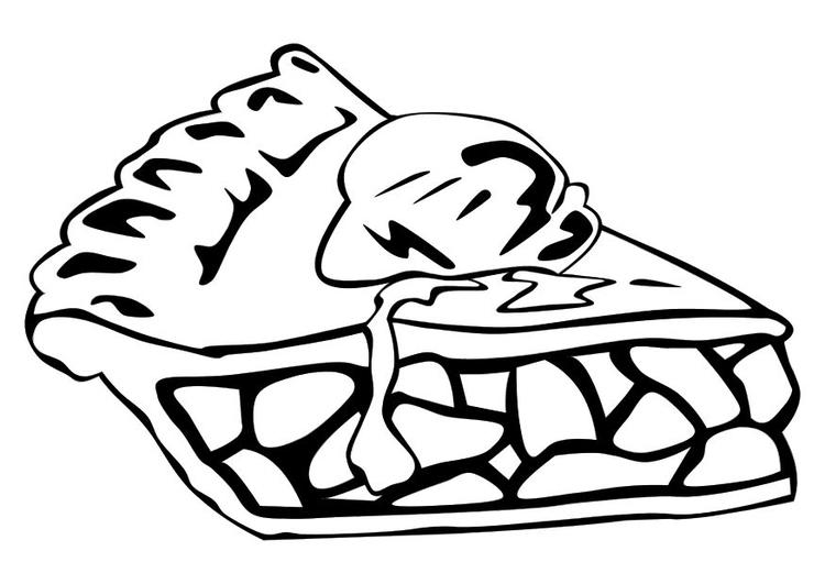 Coloriage tarte aux pommes img 10256 - Dessin tarte aux pommes ...