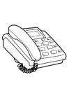 Coloriage téléphone