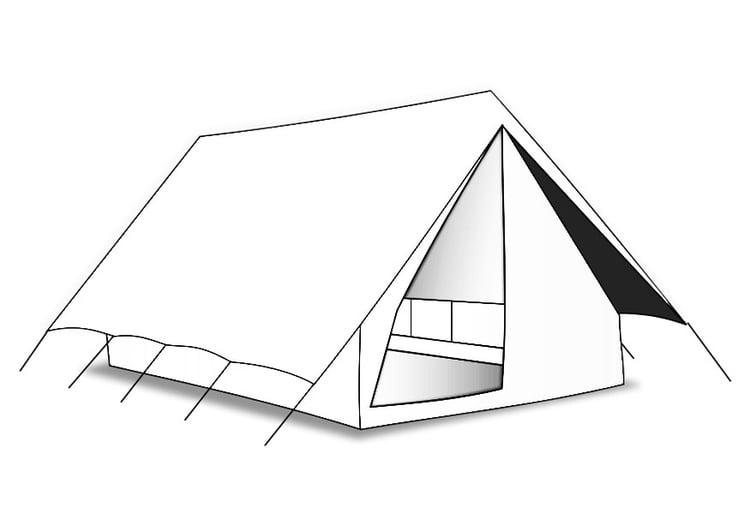 Coloriage Tente Img 27597