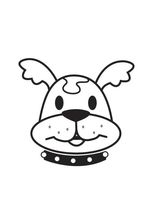 Dessiner une tete de chien - Dessin tete de chien ...